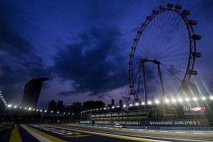 Лучшие фотографии Гран При Сингапура: четверг