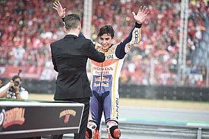 Los principales logros del mundial 2019 de Márquez, en 10 imágenes