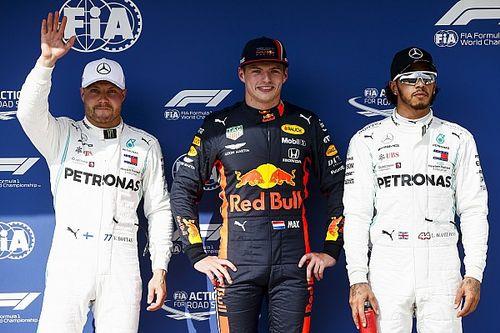 La parrilla de salida del GP de Hungría F1