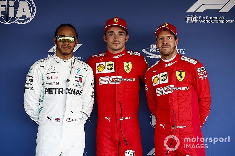 La parrilla de salida del GP de Rusia