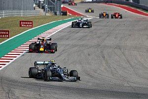 Dwójka Mercedesa i Verstappen