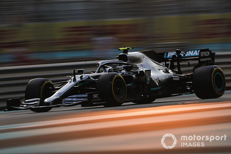 Abu Dhabi GP: Bottas tops FP2, crashes with Grosjean