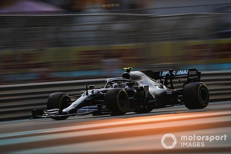 Bottas ook bovenaan na tweede training Grand Prix van Abu Dhabi