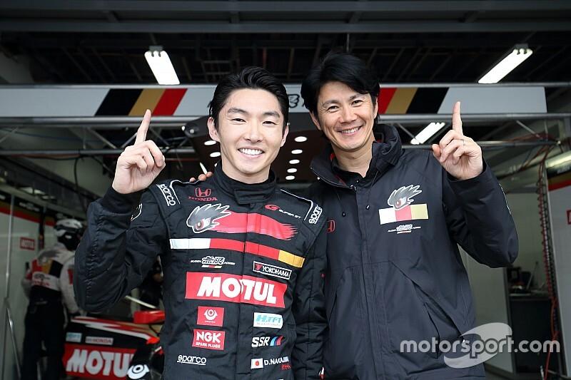 SGT×DTM特別交流戦レース2予選:16号車の中嶋大祐が最速も、デュバルがPP