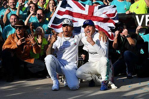 GALERIA: Imagens do GP dos EUA, que consagrou hexa de Hamilton