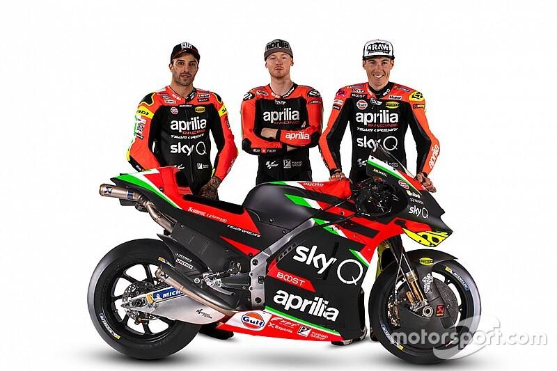 Aprilia 2020 MotoGP renk düzenini tanıttı