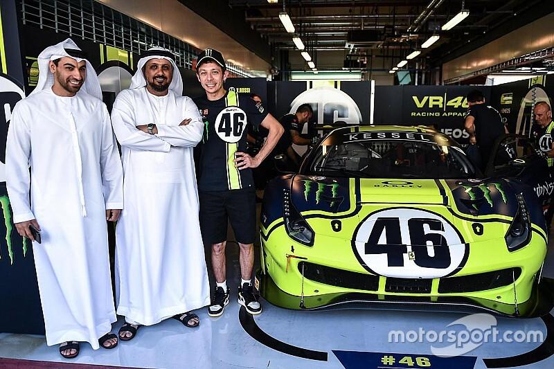 Rossi ya tiene su Ferrari 488 GT3 para las 12 Horas del Golfo