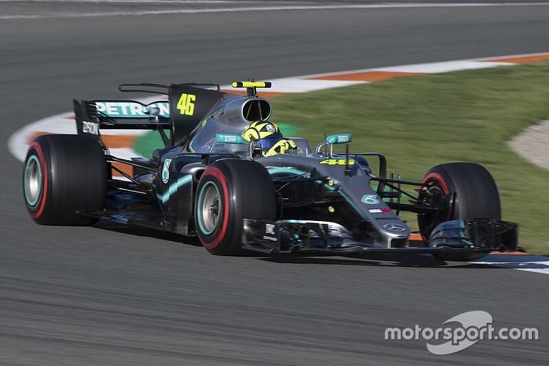 """Rossi: """"Muita coisa mudou"""" desde a última vez que guiei um carro de F1"""