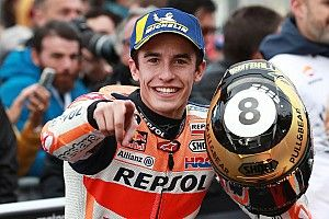 Valencia MotoGP: Marquez wins to seal teams' title for Honda