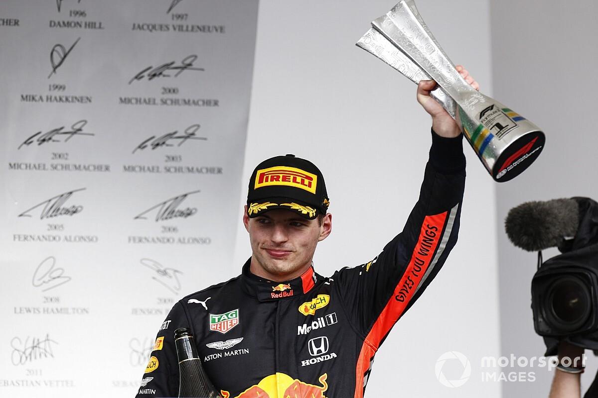 TABELA: Vitória e 'treta' da Ferrari colocam Verstappen em terceiro no campeonato