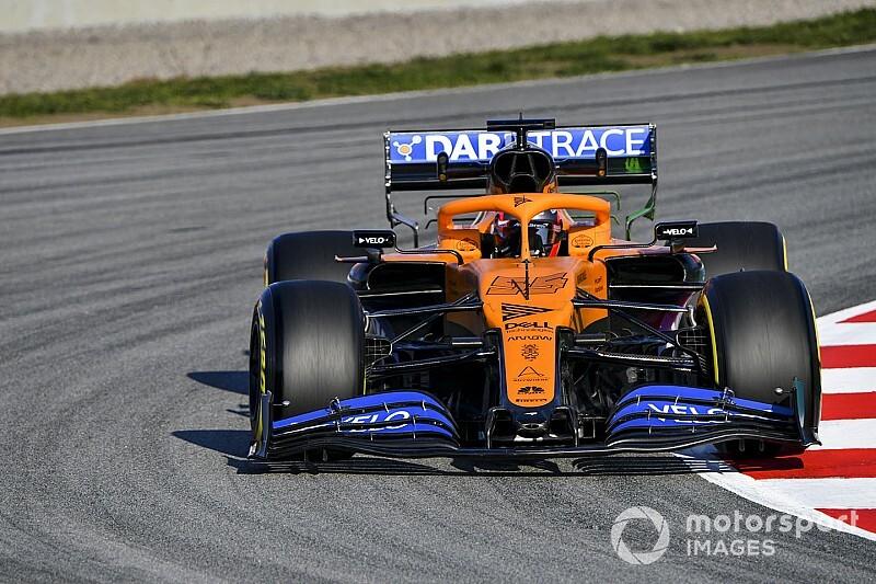 McLaren сняла заставку в стиле восьмидесятых
