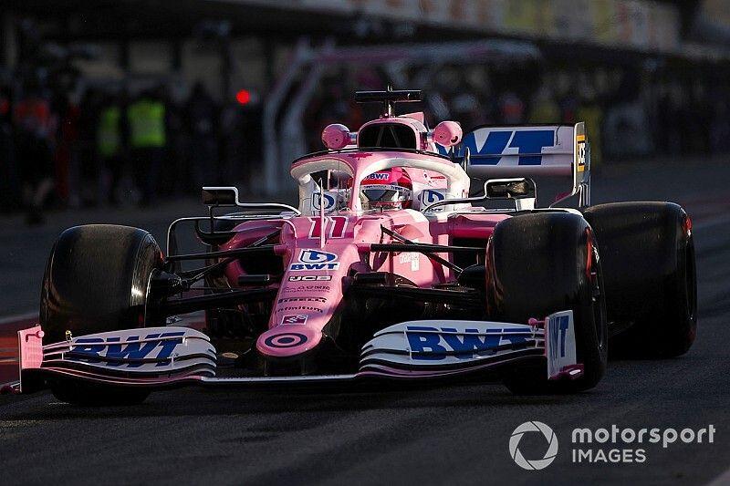 Racing Point revela su auto 2020 en Barcelona
