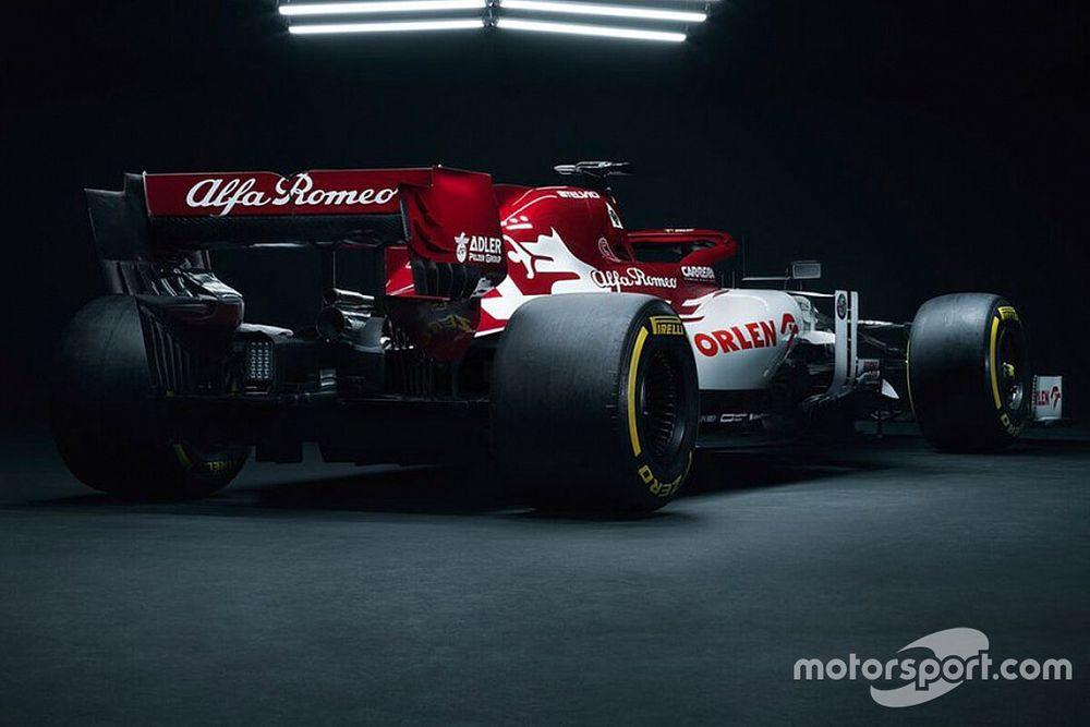 Formel 1 2020: Der neue Alfa Romeo C39 von Kimi Räikkönen in Bildern