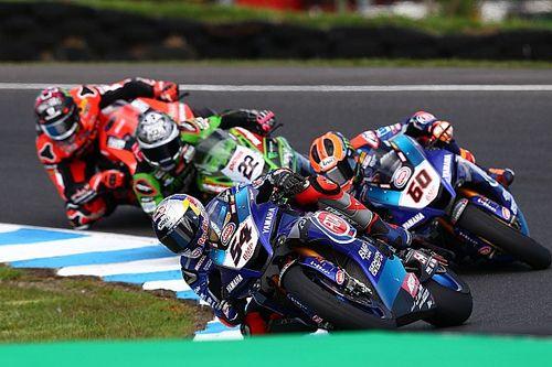 WSBK Phillip Island: Razgatlioglu wint voor Yamaha, Van der Mark P4