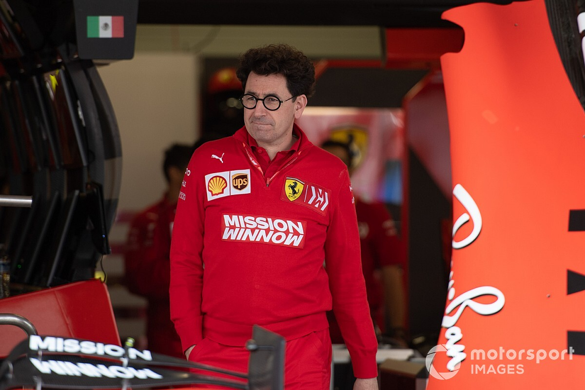 Binotto, bu kez şansın Ferrari'den yana olmasını umuyor