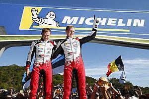 Tänak nouveau Champion du monde WRC!