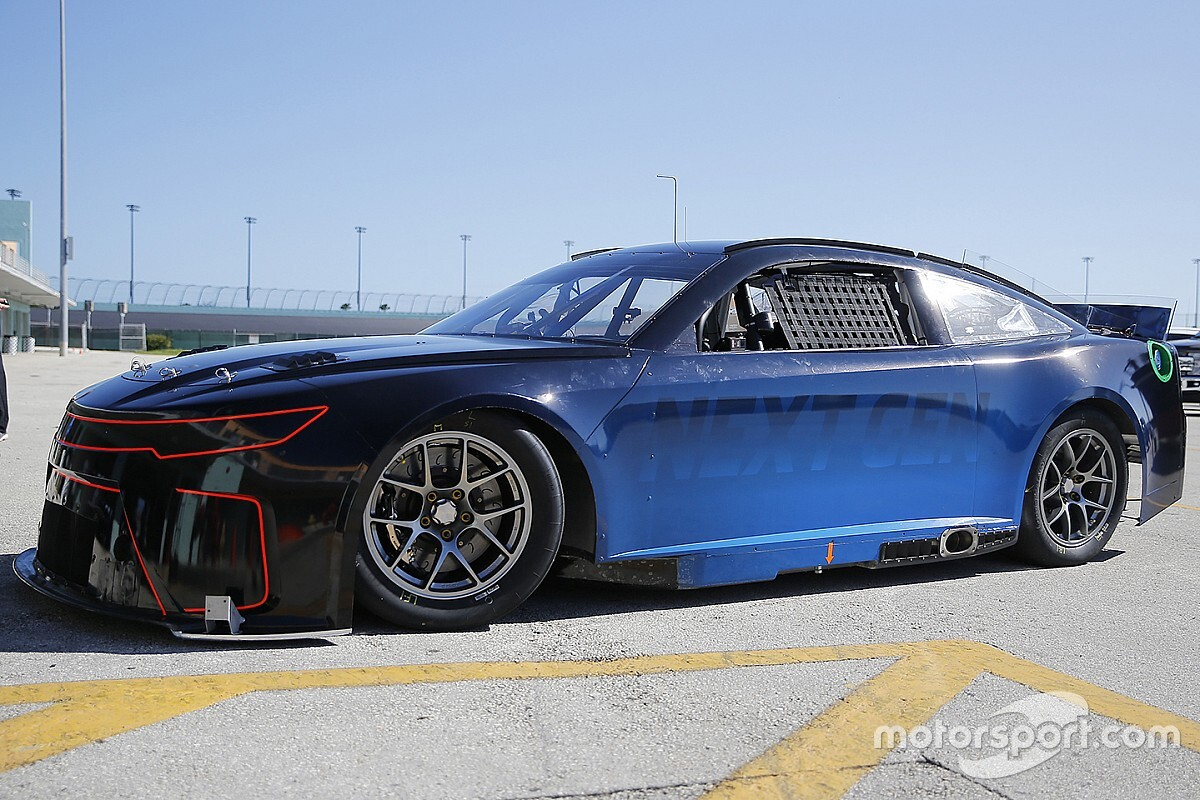 """NASCAR """"happy with the speed"""" of Next Gen car"""