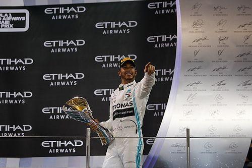 Hamilton ukoronował sezon