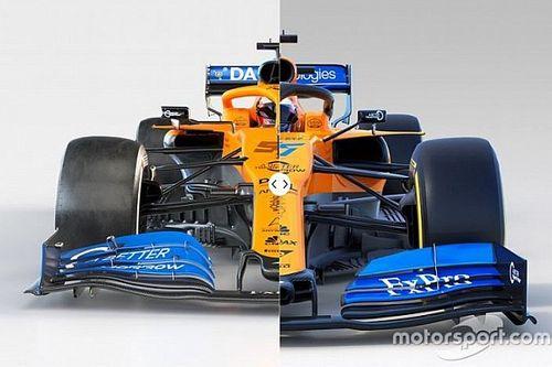 Vergleich Formel-1-Autos 2020 vs. 2019: McLaren
