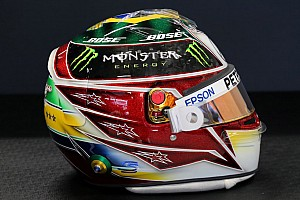 Photos - Le casque spécial de Lewis Hamilton à Interlagos