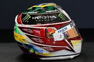 Photos - Le casque spécial de Lewis Hamilton à Interlagos