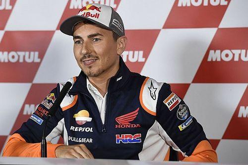 """Jorge Lorenzo: """"Je vais bientôt faire une annonce. Rossi ? Il lui manque quelque chose"""""""