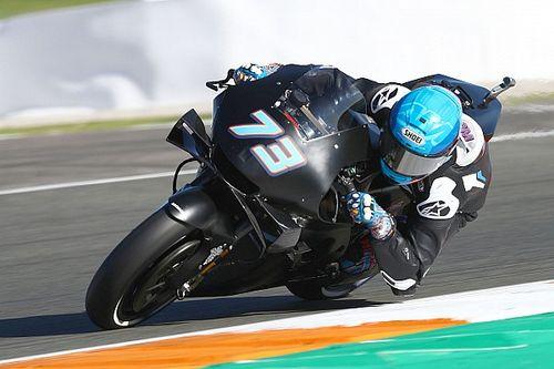 バレンシアテスト初日:新型バイクが多数投入。アレックス・マルケスは初の転倒でほろ苦いスタート
