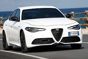 Fejlesztett infotainment rendszerrel mutatkozott be az új Alfa Romeo Giulia és Stelvio