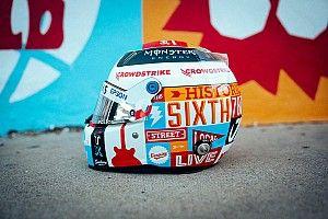 Photos - Les casques spéciaux des pilotes à Austin