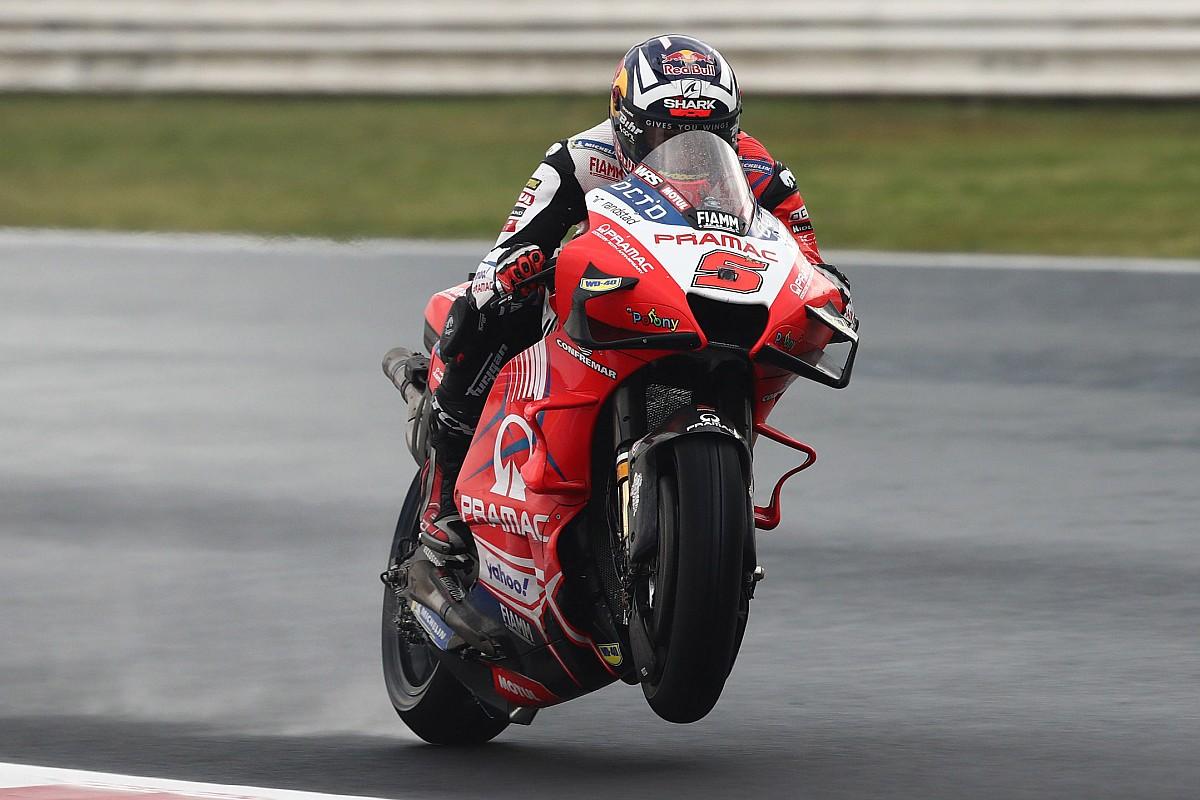 Thumb for article title Emilia Romagna MotoGP: Zarco tops FP3, Quartararo to Q1