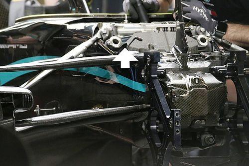Ezekkel a 2021-es megoldásokkal versenyezhetett a Mercedes Abu-Dhabiban