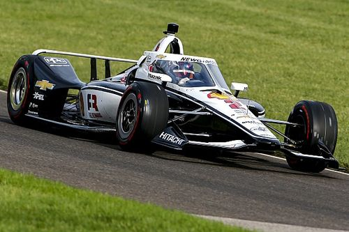 Indy 500 testi: Newgarden lider, Montoya üçüncü