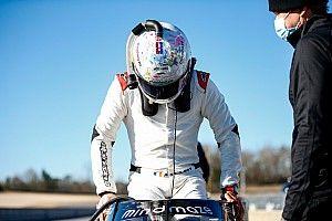 Состояние руки осложнило Грожану тесты в IndyCar