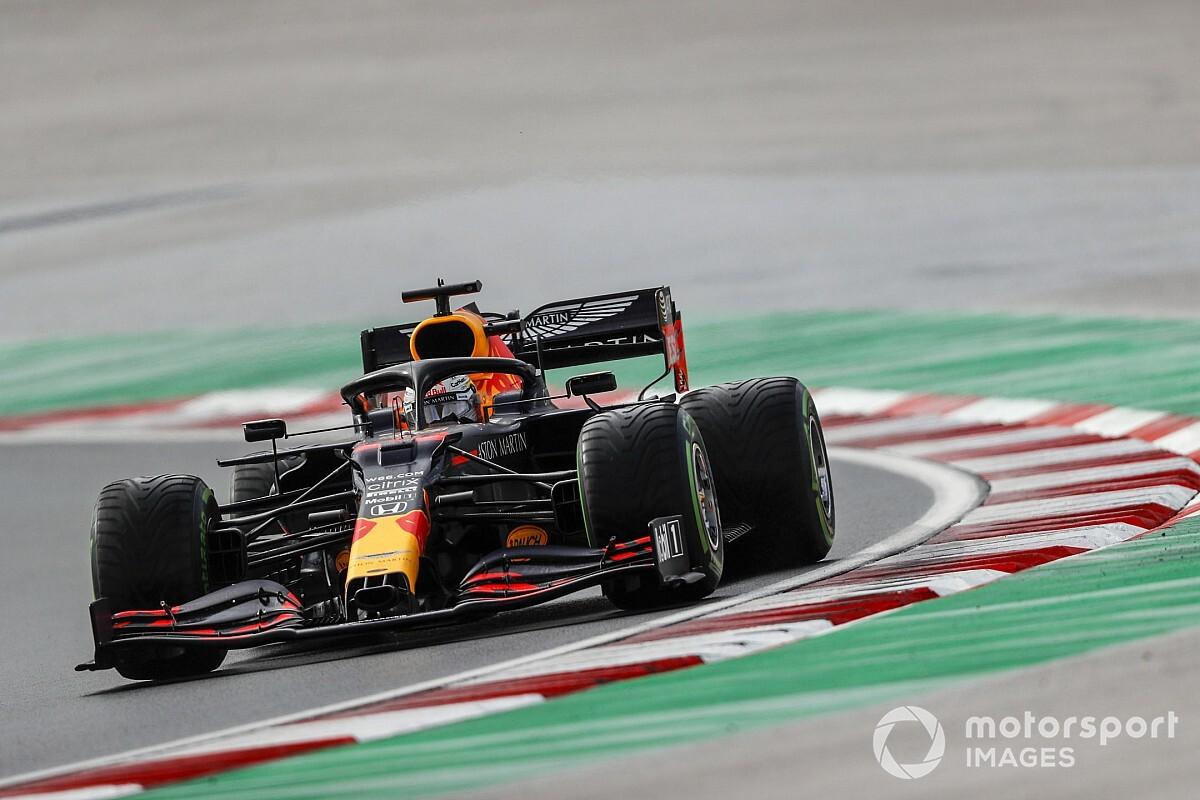 Verstappen escapes penalty after pitlane line incident