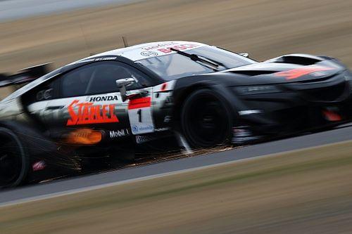 スーパーGT鈴鹿メーカーテスト、2日目も1号車STANLEYが総合首位を維持