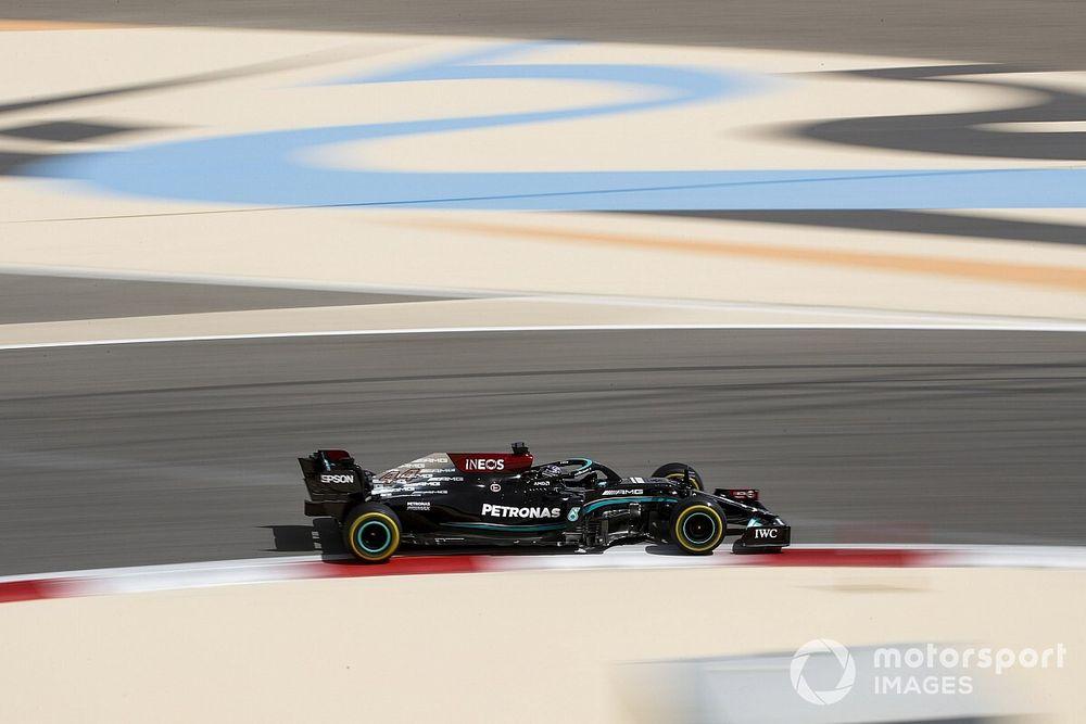F1: Hamilton não se preocupa com quilometragem baixa da Mercedes na pré-temporada