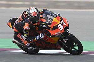 Moto3 Doha: Çaylak Acosta pit yolundan başladığı yarışı kazanarak tarihe geçti