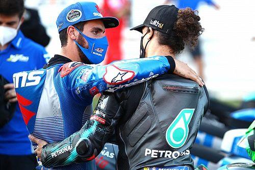 "Rins: ""Morbidelli está fuerte, tendremos que espabilar para alcanzarle"""