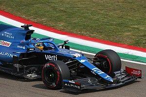 Alonso, satisfecho con las mejoras de Alpine para Imola