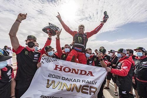 Kevin Benavides, primer argentino en ganar el Dakar en motos