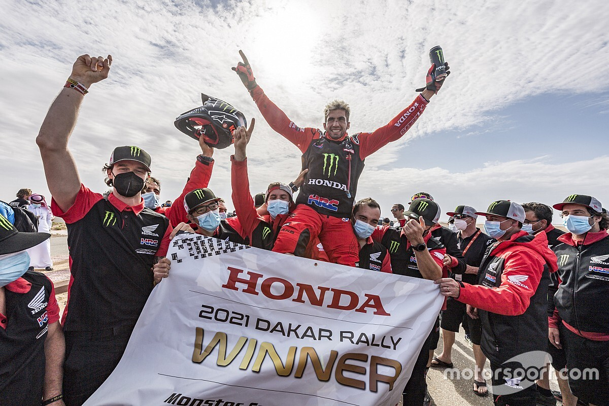 The making of South America's first Dakar bikes champion