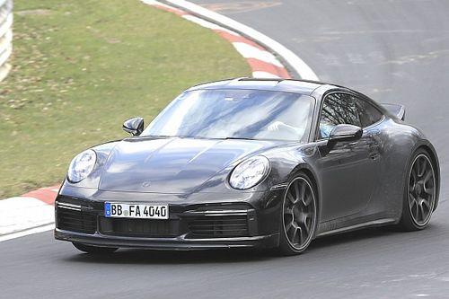 Nuova Porsche 911 Sport Classic, le foto spia