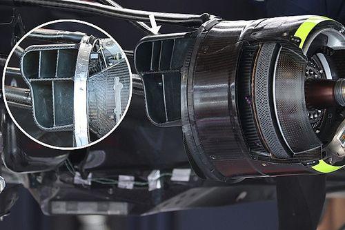 Red Bull: nuova presa dei freni per migliorare il warm up