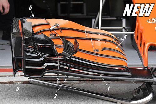 Технический анализ: новое антикрыло McLaren