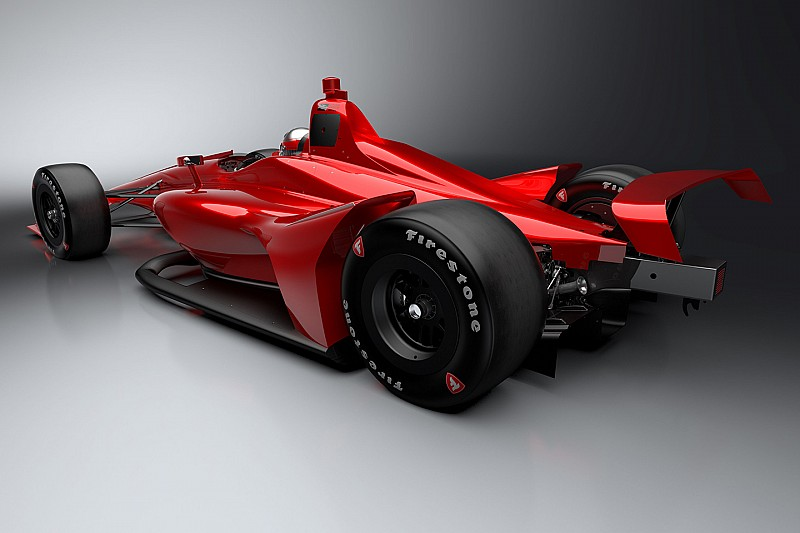 La IndyCar muestra cómo será el coche de 2018