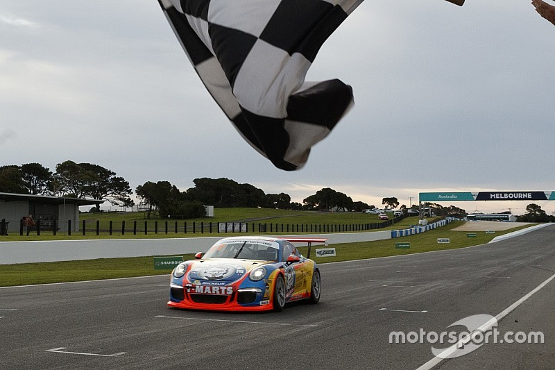 McBride/Thomas win first leg of Carrera Cup Pro-Am