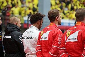 Hamilton Amerika GP'sinde 'diz çökebilir'