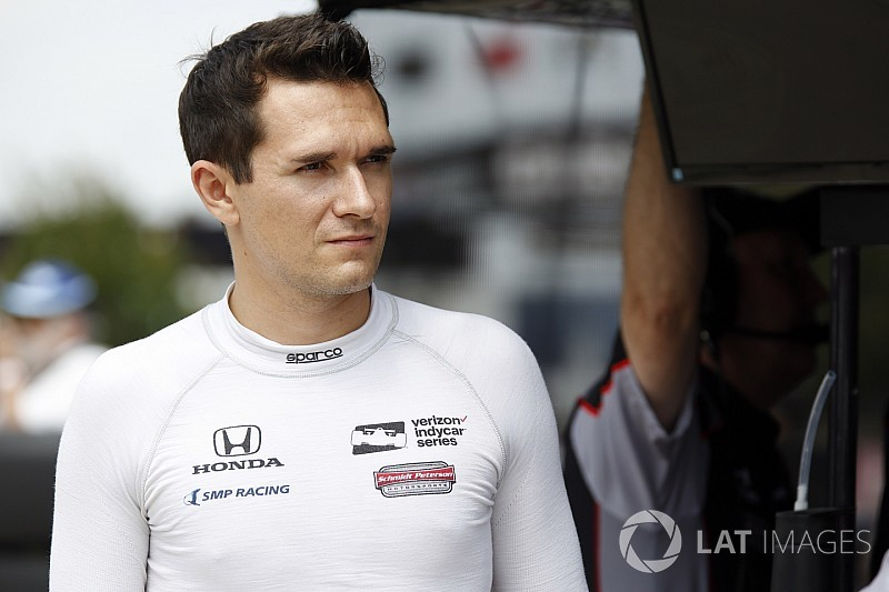 "Aleshin ""immigration issues"" prompt Wickens IndyCar call-up"