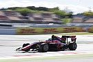 GP3 GP3 Barcelona: Fukuzumi menangi balapan perdana, Aitken alami masalah