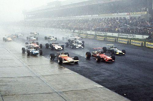 10 великих гонок Формулы 1, где пилоты победили не только соперников, но и проливной дождь